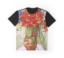 Vincent's Flowers Graphic T-Shirt