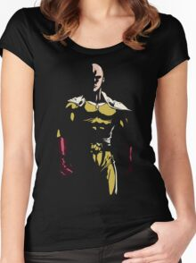 The strongest hero Women's Fitted Scoop T-Shirt