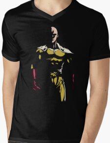 The strongest hero Mens V-Neck T-Shirt