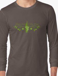 Seneca Lake Wine Terroir Long Sleeve T-Shirt