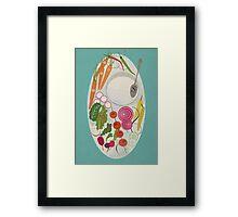 Winter Salad Framed Print