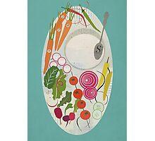 Winter Salad Photographic Print