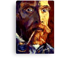Vincent van Gogh in Sunlight Canvas Print
