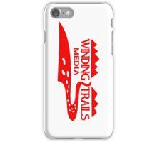 Winding Trails Media Red Logo iPhone Case/Skin