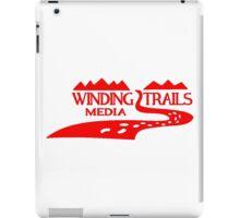 Winding Trails Media Red Logo iPad Case/Skin