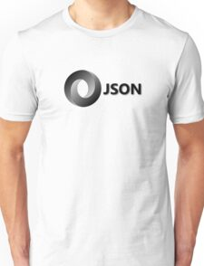 JSON JavaScript Object Notation Unisex T-Shirt