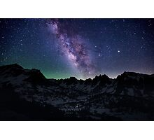 Milky Way over the Sierras Photographic Print
