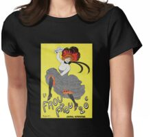 'Frou Frou' by Cappiello (Reproduction) Womens Fitted T-Shirt