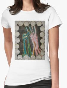 Eve - Shells Around Womens Fitted T-Shirt