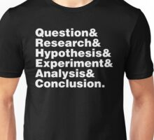 Scientific Method Helvetica Unisex T-Shirt