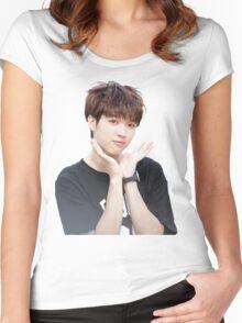 INFINITE - Nam Woohyun - K-Pop Women's Fitted Scoop T-Shirt