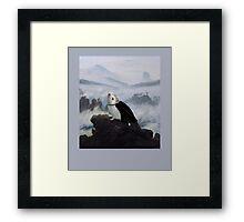 Hedgehog Above a Sea of Fog  Framed Print