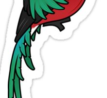 Birdorable Resplendent Quetzal Sticker