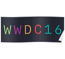 WWDC 2016 (Without Logo) Poster