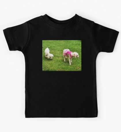 Wait, Hide! Somebody Could See You Naked... Kids Tee