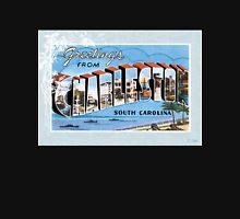 Charleston South Carolina Vintage Souvenir Greeting Post Card Unisex T-Shirt
