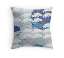 Barramundi Throw Pillow Throw Pillow