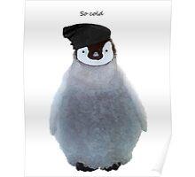 Penguin Beanie Poster