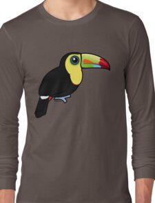 Birdorable Keel-billed Toucan Long Sleeve T-Shirt