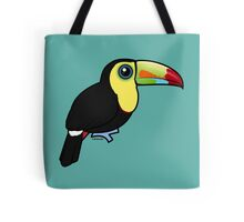 Birdorable Keel-billed Toucan Tote Bag