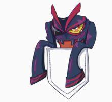 Senketsu in my pocket! by waterycoke