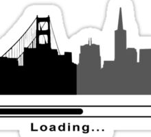 San Francisco Loading Sticker