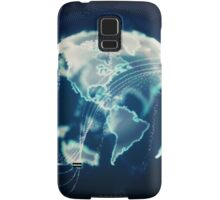 Planet Earth Particle Hologram Samsung Galaxy Case/Skin