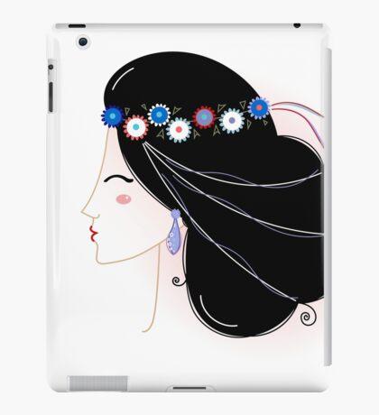 Slavic Woman Original fashion Illustration iPad Case/Skin