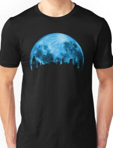 Blue Moon Over San Francisco Unisex T-Shirt