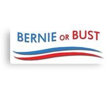Bernie or Bust Canvas Print