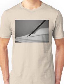 Quill in Black & White Unisex T-Shirt
