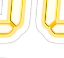 Glowing 24 Logo Sticker