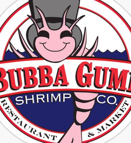 Bubba Gump Shrimp co. Sticker
