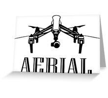 Aerial DJI INSPIRE 1 Greeting Card