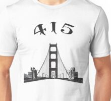 The Golden Gate Bridge Unisex T-Shirt