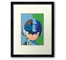 Mega Man - Mighty No 9 Poster! Framed Print