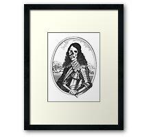 dead pirat smiling Framed Print