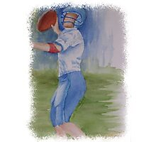 TOUCHDOWN PASS! Photographic Print