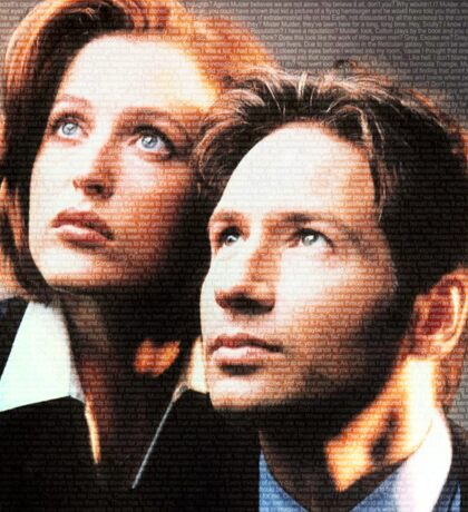 X-Files Sticker