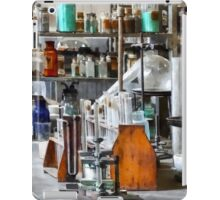 Chem Lab With Test Tubes and Retort iPad Case/Skin