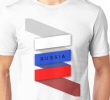 World Cup: Russia Unisex T-Shirt