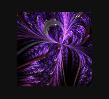 Violet Butterfly - Abstract Fractal Artwork Womens Fitted T-Shirt