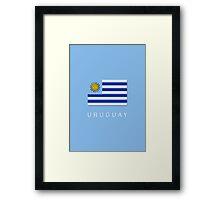 world Cup: Uruguay Framed Print