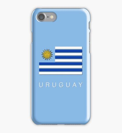 world Cup: Uruguay iPhone Case/Skin