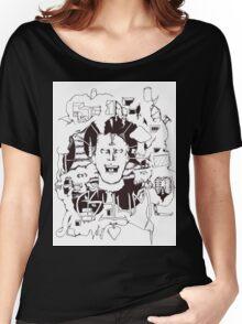 Asylum Sketch Women's Relaxed Fit T-Shirt