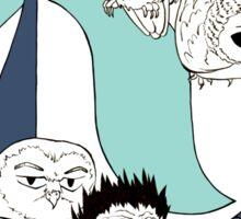 Team Fukurodani Sticker