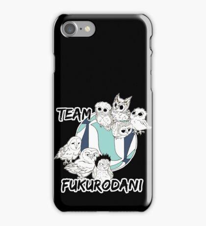 Team Fukurodani iPhone Case/Skin