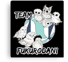 Team Fukurodani Canvas Print