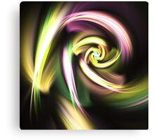 Golden Spiral - Abstract Fractal Artwork Canvas Print