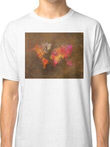 world map Classic T-Shirt